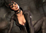 Catwoman in Batman Arkham City