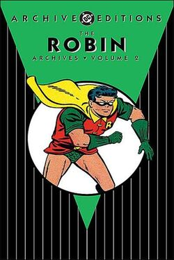 Cover for the Robin Archives Vol 2 Trade Paperback
