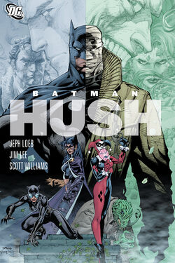 Cover for the Batman: Hush Trade Paperback