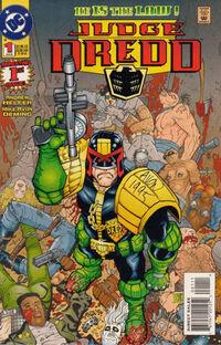 Judge Dredd Vol 1 1