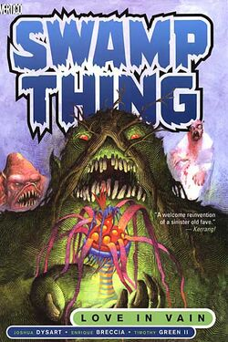 Cover for the Swamp Thing: Love in Vain Trade Paperback