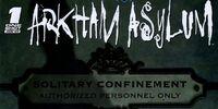 Battle for the Cowl: Arkham Asylum Vol 1 1