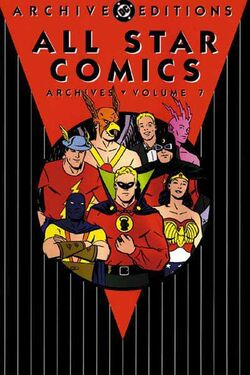 Cover for the All-Star Comics Archives Vol. 7 Trade Paperback