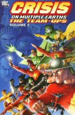 Cover for the Crisis on Multiple Earths: The Team-Ups Vol. 2 Trade Paperback