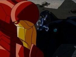 Iron Man Defeats Mandroid AEMH