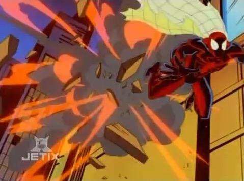File:Spider-Man Dodges Tyger Blast.jpg