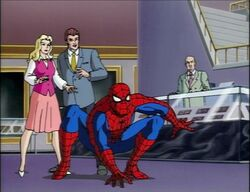 Spidey Protects Felicia Jason