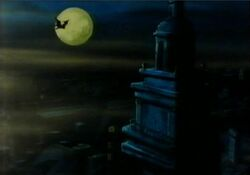 Dracula Bat Over Boston DSD