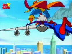 Hobgoblin Spidey Airplane
