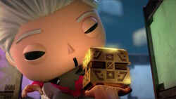 Collector Examines Cube BNS