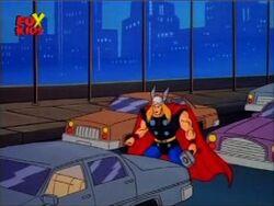 Thor Enters Detroit