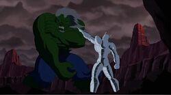 Ultron Breaks Hulk Arm NAHT