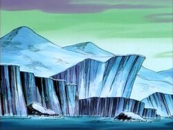 Canadian Ice Cliffs