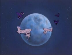 Skrull Armada Approaches Earth