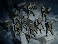 Howling Commandos Spotted AEMH