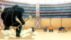 Ronan Enters Arena FFWGH