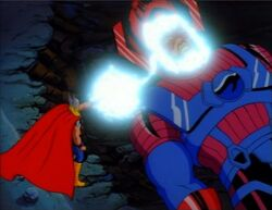 Thor Charges Galactus