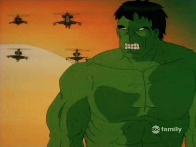 File:Hulk Watches Helicopters Sunset.jpg