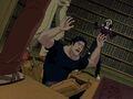 X-23 Drops Logan Through Library Floor XME.jpg