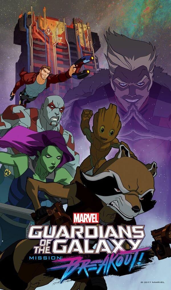 Guardians of the Galaxy Season Three Promo