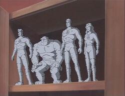 Fantastic Four Clay Dolls