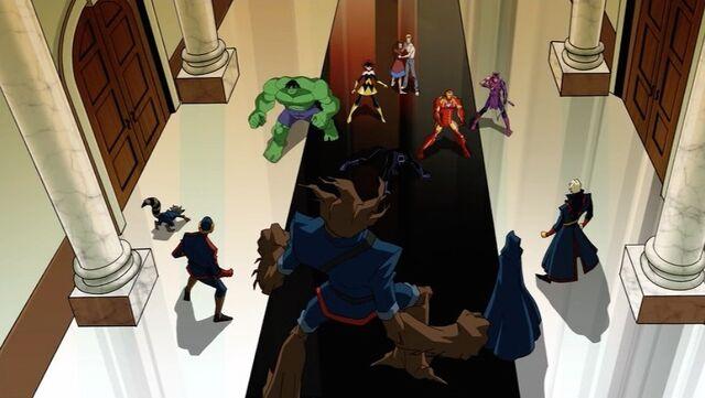File:Avengers Confront Guardians AEMH.jpg