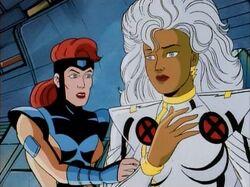 Jean Comforts Storm After Genosha