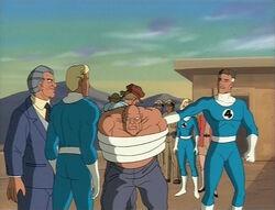 Fantastic Four Save Prison