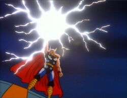 Thor Charges Mjolnir WCG