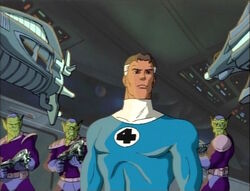 Skrull Imperial Guard Surround Mister Fantastic