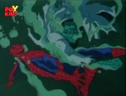 Spider-Man Dodges Lizard Underwater Swipe
