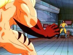Sabretooth Readies for Wolverine Attack