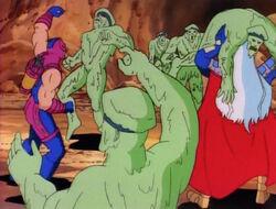 Hawkeye Century Fight Zombies