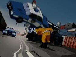 Bulldozer Smashes Car AEMH