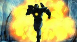 Iron Man Destroys Core UA2