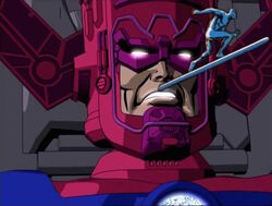 Galactus Watches Silver Surfer Leave Tech World