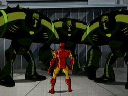 HYDRA Dreadnaughts Surround Iron Man AEMH