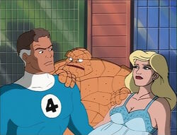 Thing Interrupts Mister Fantastic Sue