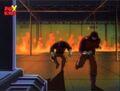 Kingpin Guards Flee Burning OsCorp.jpg