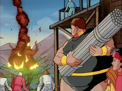 Slave Mutants See Cable Explosion