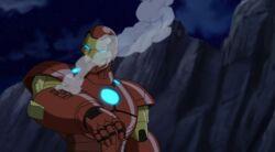 Iron Man Arm Destroyed UA2