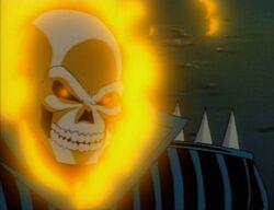Ghost Rider Prepares Penance Stare