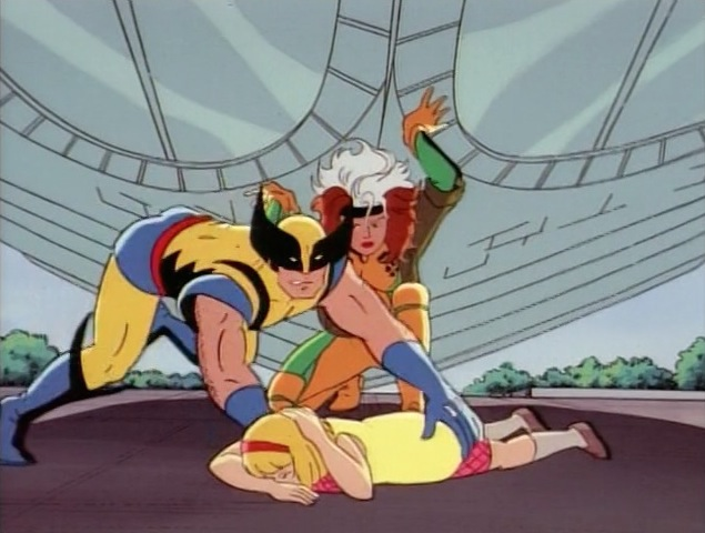 File:Wolverine Saves Girl Smithsonian.jpg