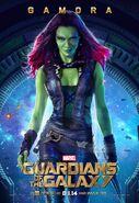 GotG Gamora Poster