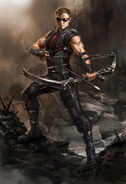 The Avengers- Hawkeye-881 large