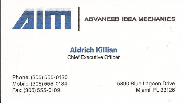 File:Aldrich Killian's Business Card.jpg
