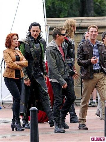 File:The Avengers filming 7.jpg