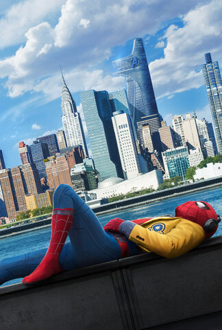 File:Textless Spider-Man Homecoming Teaser Poster.jpg