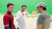Tom Holland, RDJ & Joe Russo (The Making of CACW)