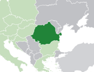 Map of Romania